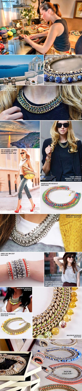 Meet the designer of statement crochet jewelry Lamprini