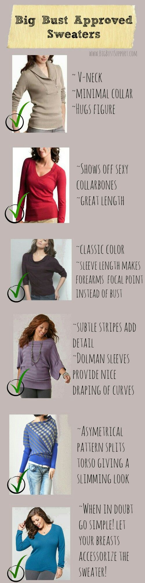 How To Dress An Apple Shaped Figure Ehow - Big bust sweaters do s and don ts for choosing a sweater to flatter your large bust