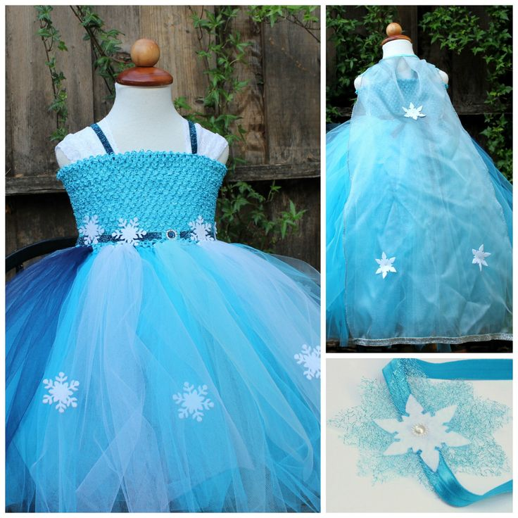 Elsa Dress, Cape and Headband (Three  items combo) - Designer Costume - Disney Frozen Elsa Dress by BloomsNBugs on Etsy https://www.etsy.com/listing/190782416/elsa-dress-cape-and-headband-three-items