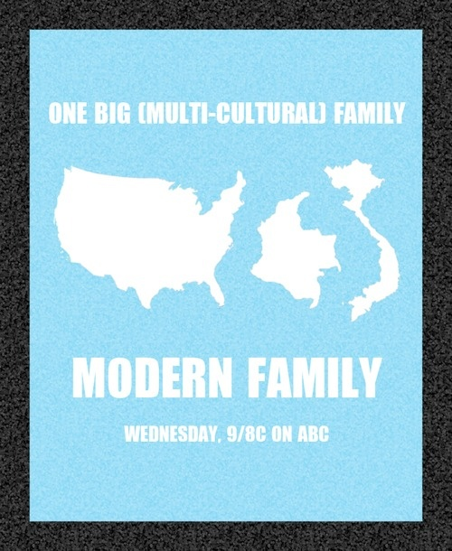 Modern family minimalist posters pinterest modern for Minimalist family