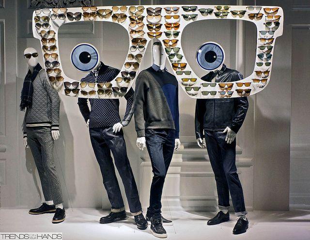 summer sunglasses for men, pinned by Ton van der Veer