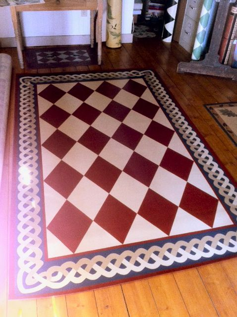 43 Best Images About Oil Cloth Rugs On Pinterest Painted
