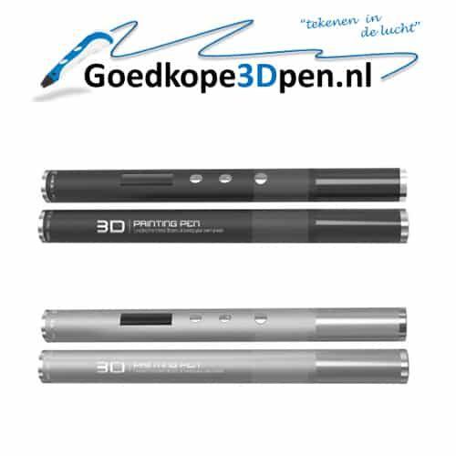 2017 is het jaar van grote wijzigingen, zo niet sprongen, in de wereld van 3D pennen. Nu is ook dezenieuwe, aller kleinste 3D pen te koop in Nederland en België.Ook van deze pen is de verstoppingsbestendigheid zeer goed. Verder kan met ABS op snelheid 1 t/m 6 gewerkt worden en met PLA op snelheid 1 t/m