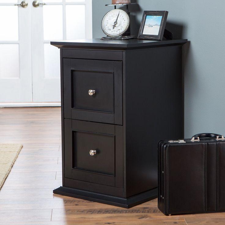 Belham Living Hampton 2 Drawer Wood File Cabinet