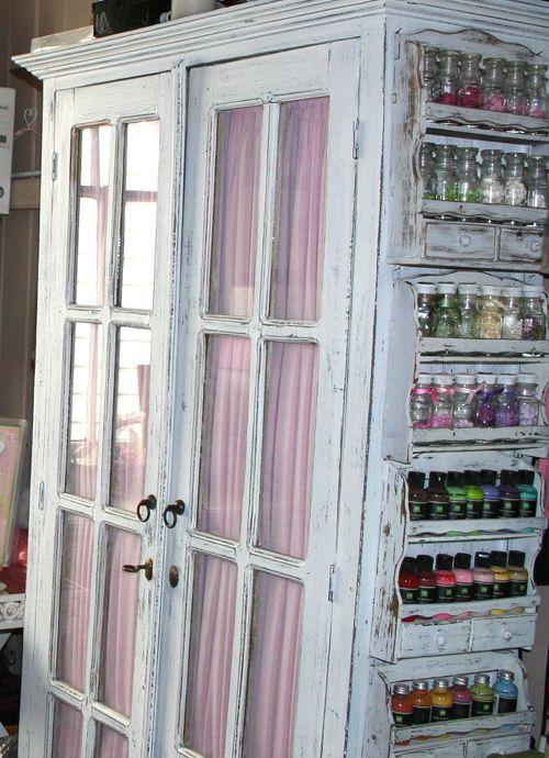 side of shelf/cabinet