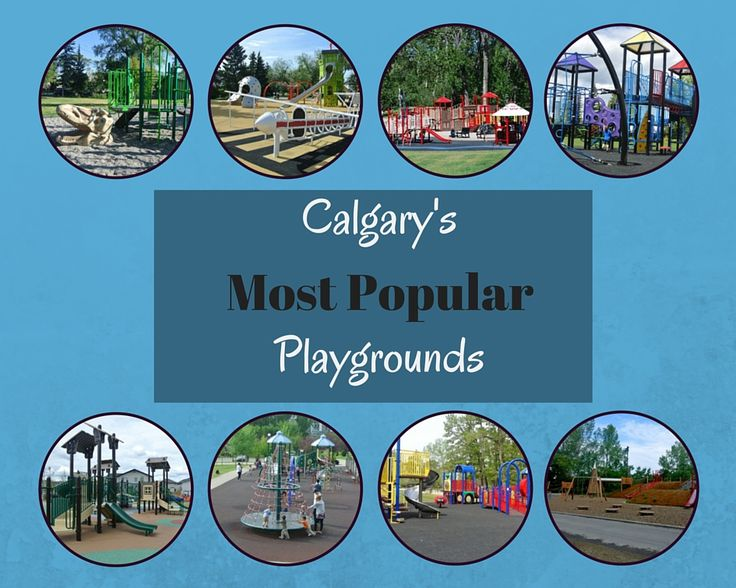 Calgary's Most Popular Playgrounds!