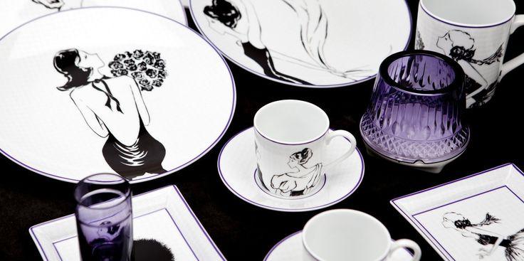 Czarno-biała kolekcja Veronique Lataste