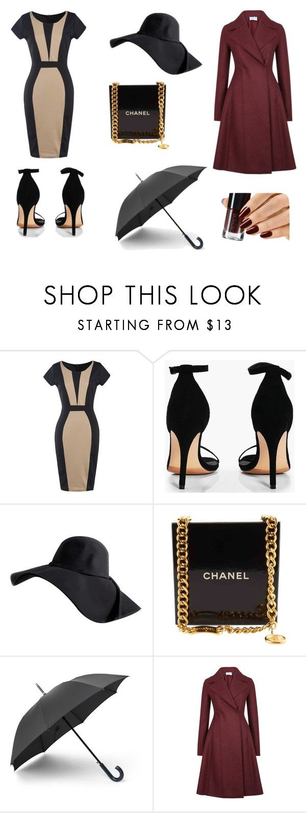 CAROL by lauradamiani on Polyvore featuring moda, Harris Wharf London, Boohoo and Chanel