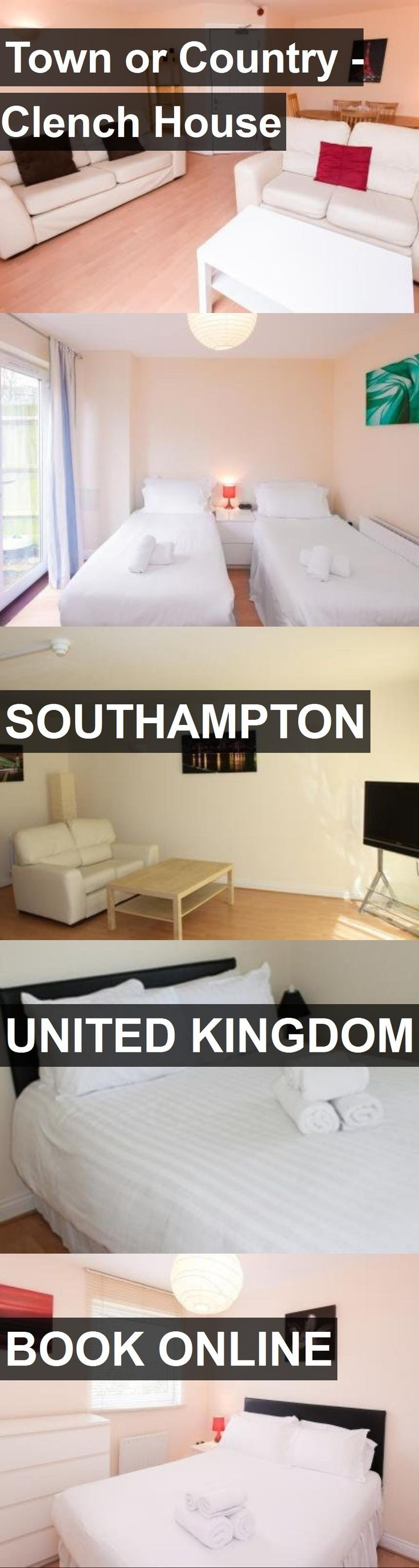 Hotel Town or Country - Clench House in Southampton, United Kingdom. For more information, photos, reviews and best prices please follow the link. #UnitedKingdom #Southampton #travel #vacation #hotel