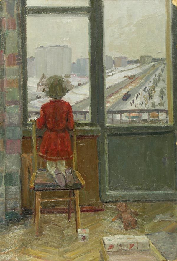 Утро.    Автор: Есин Б.Е.  Год: 1969 г