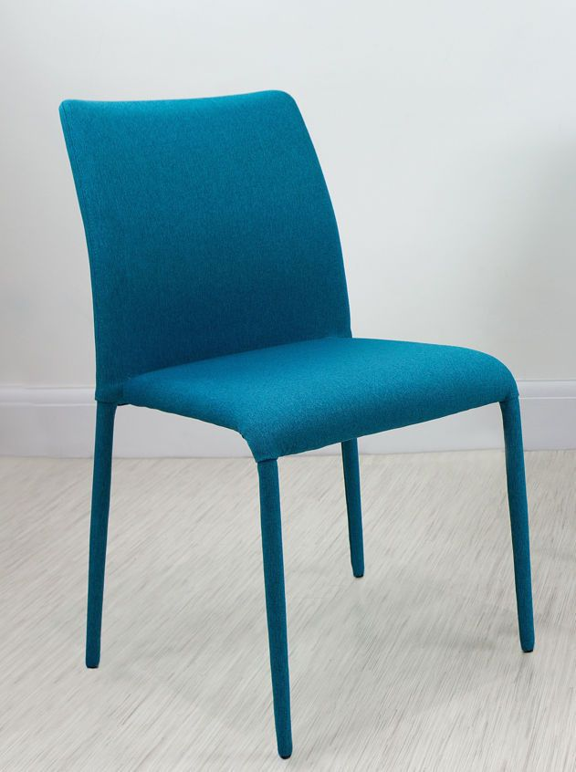 Fabric Dining Chairs Teal senn grey and white dining chair | kitchen chairs, grey and white