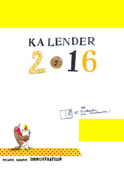 Kalender 2016 von Rehwiesenladen auf DaWanda.com