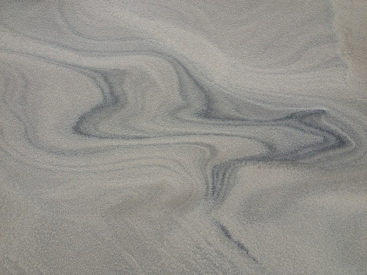 Sand close up at  Råbjerg Mile.