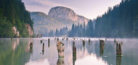 Gyilkos tó Red Lake Transylvania