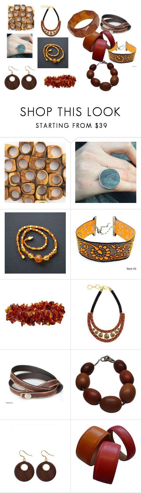 """""""yfnehdk"""" by ivanova-cawa on Polyvore featuring мода, Forest of Chintz, NOVICA, Patricia von Musulin, Jaeger и Etienne Aigner"""