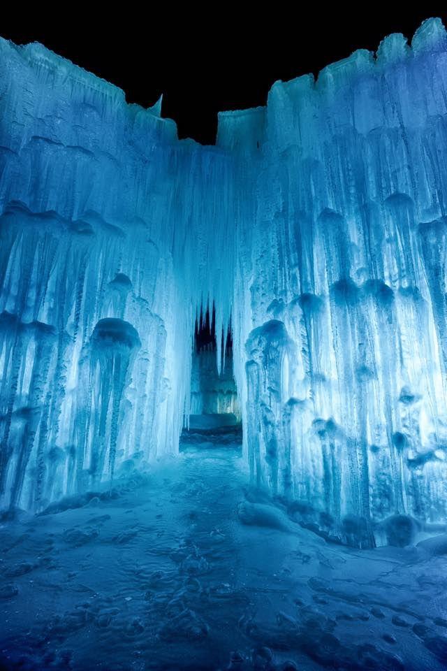 US Travel | Ice Castles | Winter Wonderland | Hidden Gems | Travel | New England | New Hampshire