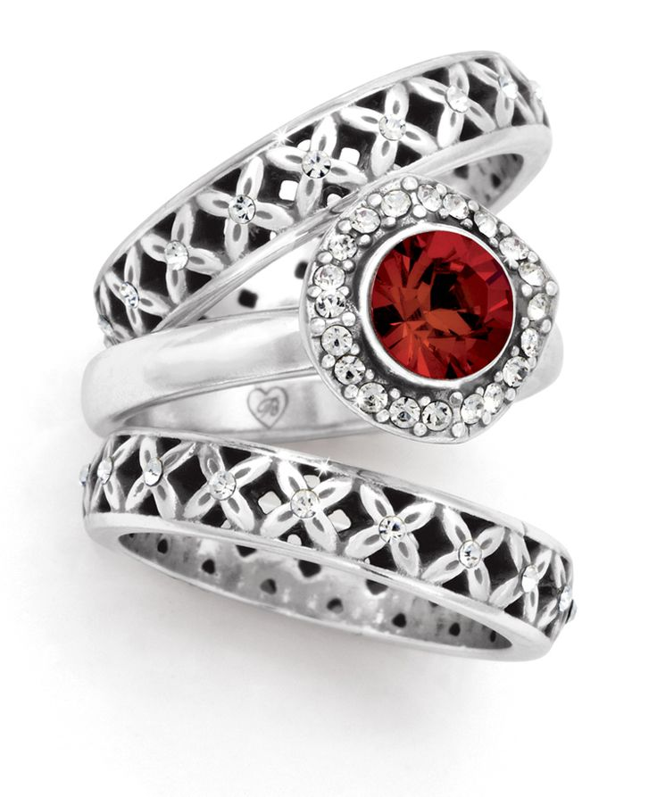 Brighton stacking rings! I want this!!! Omg!!