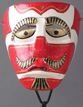 Moor Mask, Xico, Veracruz, Mexico