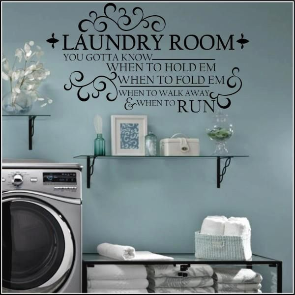 laundry room decor wall art laundry room decal