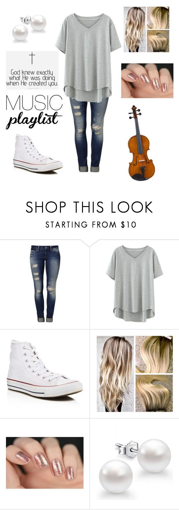 """""""Untitled #249"""" by egabest ❤ liked on Polyvore featuring Mavi, Converse and BLVD Supply"""