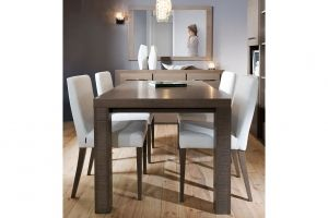 IBERIA BRW Dining room furniture set. This modular system is designed to create a unique and comfortable rooms. Body frames are massive and delicate at the same time. Optionally: handles with Swarovski crystals. Polish BRW Modern Furniture Store in London, United Kingdom #furniture #polish #brw #diningroom
