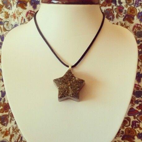 Orgonite necklace