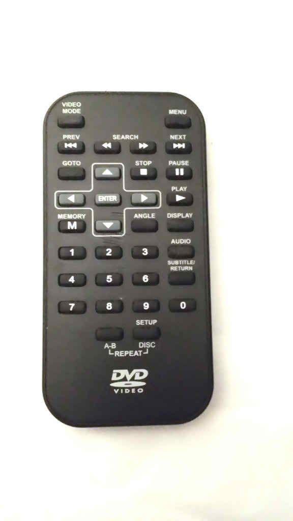 RCA DRC6309 DRC69702 DRC99731 VENTURER PVS6281 PORTABLE DVD REMOTE CONTROL