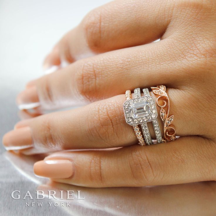 253 best Wedding Rings images on Pinterest Engagement rings