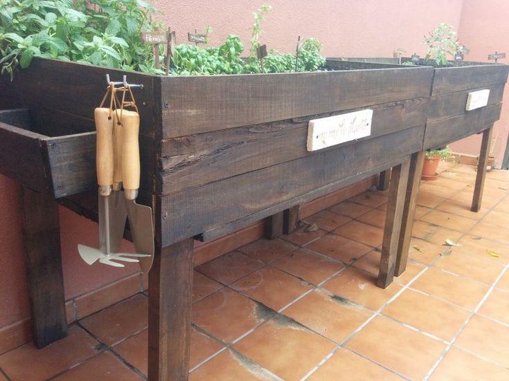 Cómo hacer un huerto con pallets - http://www.jardineriaon.com/como-hacer-un-huerto-con-pallets.html