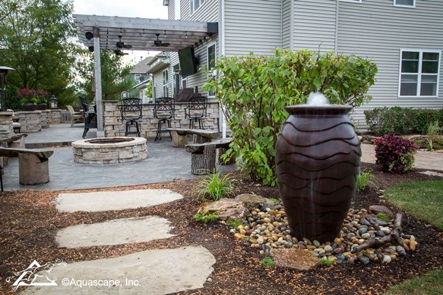 Landscape Ideas: Small Space Water Features | Outdoor ... on Small Backyard Water Features id=49394