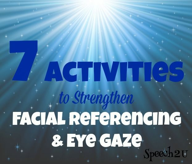 """How to teach facial referencing without constantly saying """"look at me"""".  FREEBIE & paid product"""