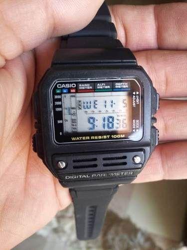 reloj casio bm-100w altimetro-barometro-profundimetro cambio