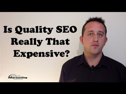 http://www.stealthimarketing.com/news/seo-specialist-brisbane-answers-is-quality-seo-really-that-expensive/  SEO Specialist in Brisbane Stealth iMarketing answer – Is Quality Search Engine Optimisation expensive or is the cost of cheap SEO hurting you?  In This episode:  - Misconceptions About Organic Results - The internet is more competitive - SEO Takes Time To Gain Traction - Hand Written Quality Content takes time