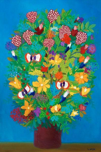 .: Jirlow Born, Floral Paintings, Lennart Jirlow, Posts, 1936 Flowers, Flowers Sets, Jirlow Floral