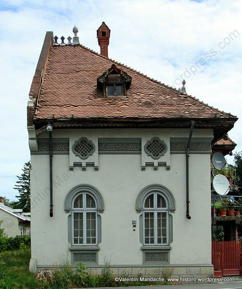 Neo-Romanian style house, Targoviste, south east Romania