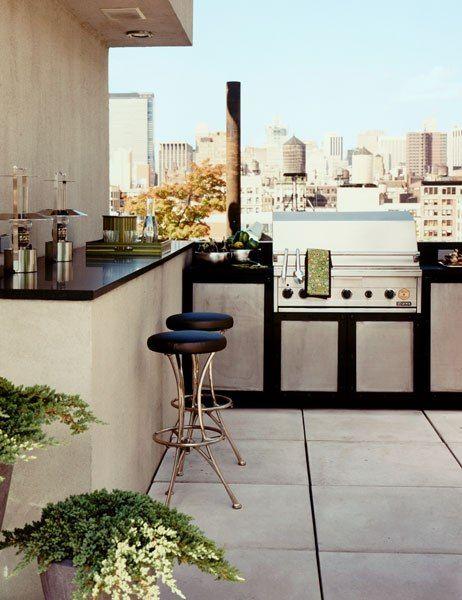 Best 25 outdoor kitchen design ideas on pinterest for Roof terrace definition