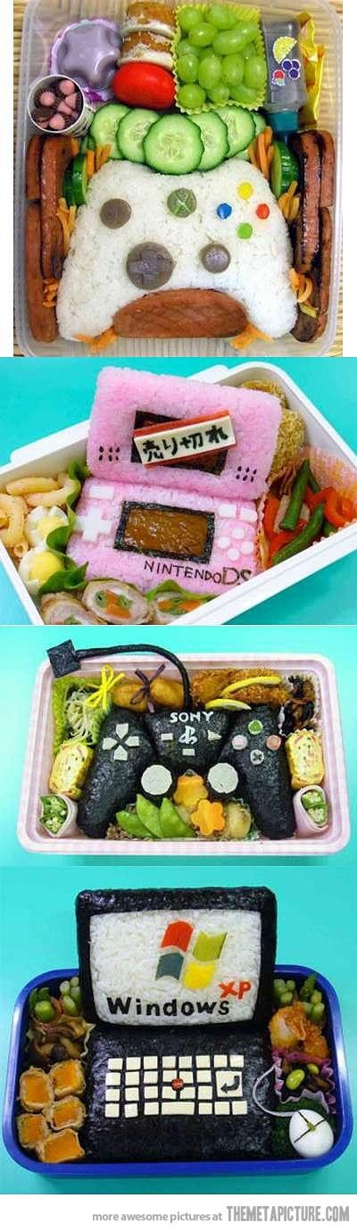 These bento boxes..I can't even. I debated on putting this under my recipes board, but this is art