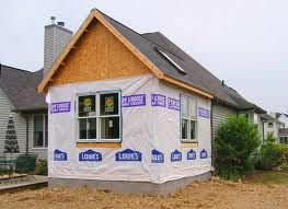 Kingwood Room Addition Project Photo From A Job Under Way In TX To Add The Back Of House