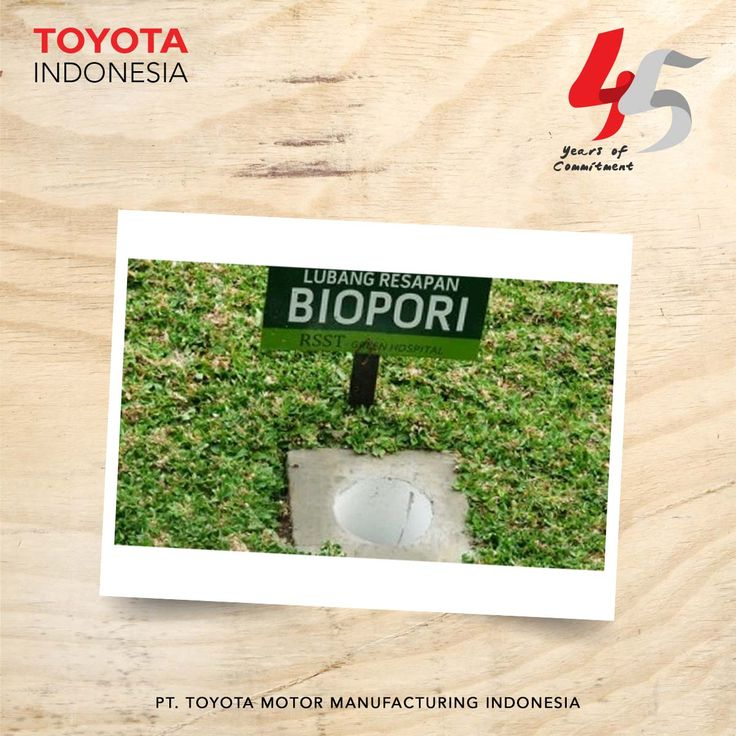 """Pada tahun 2012, TMMIN menerima penghargaan untuk kategori """"aktivitas lubang biopori"""" dari BPLHD (Badan Pengelola Lingkungan Hidup Daerah DKI Jakarta) karena telah membuat Biopori Konservasi Air di pabrik Sunter-2. #InfoTMMIN #TMMINspirasi"""