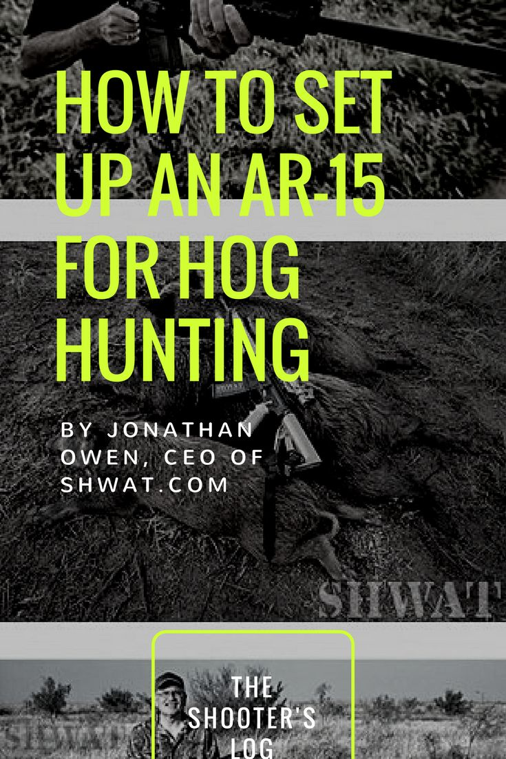 While there's no limit on interchangeable AR-15 configurations, these considerations combined with your personal preferences of brand, grips, stocks, etc. will get you all set to hog hunt with your AR-15. Fact is, getting set up to hunt hogs with the puzzle pieces covered here will also get you set up to effectively hunt various varmints, deer and other exciting prospects for the tactical hunter.