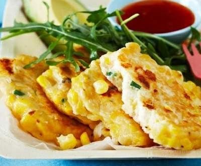 Recipe Corn and Feta Fritters by HayleyCallaughan01 - Recipe of category Starters