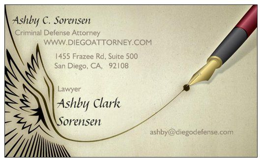 #Sandiegocriminaldefenseattorney Ashby Sorensen's job is to advocate on your behalf and essentially defend you as if he were in your shoes. This means looking through the police report line by line to ensure no detail is left overlooked or no mistake or flaw goes unnoticed.