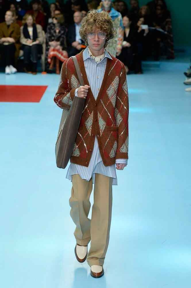 Gucci Fall-Winter 2018 - Milan Fashion Week | Menswear, Men fashion show,  Fashion