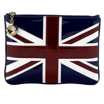 Buy Aspinal Large Flat Brit Flag Cosmetic Pouch