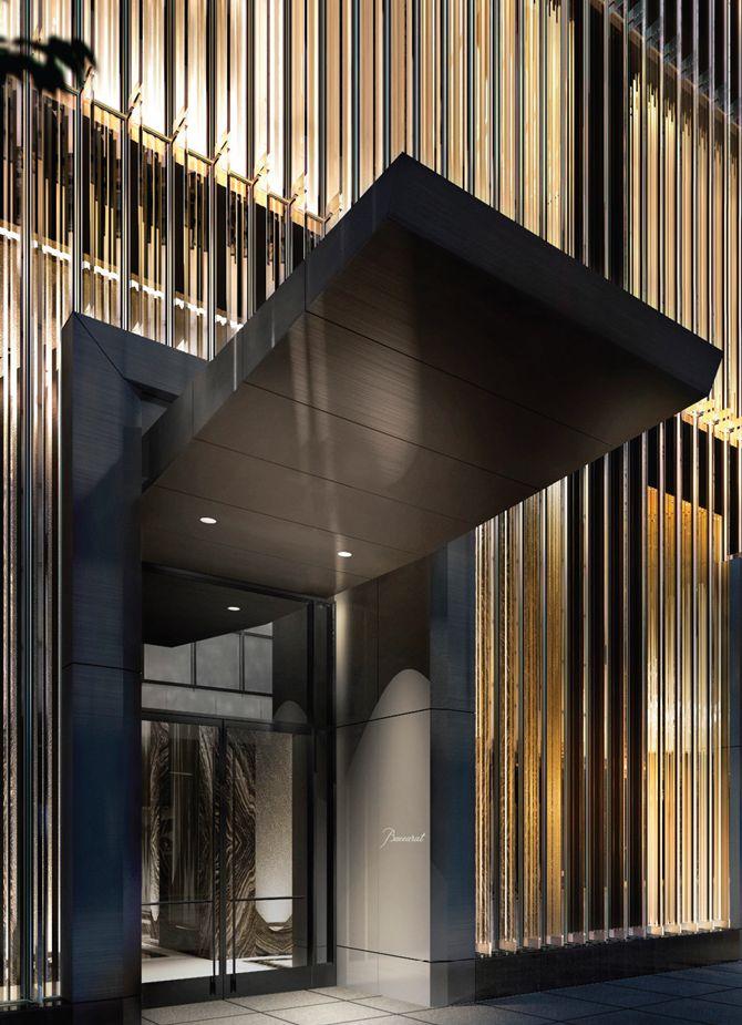 Baccarat Hotel inaugurou recentemente o seu primeiro hotel em Nova Iorque em frente ao Museu de Arte Moderna, o elegante hôtel particulier