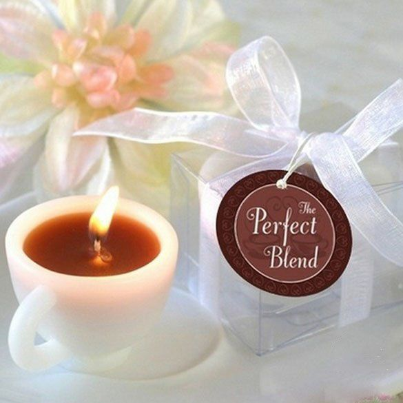 "Scented candle ""coffee with milk"""