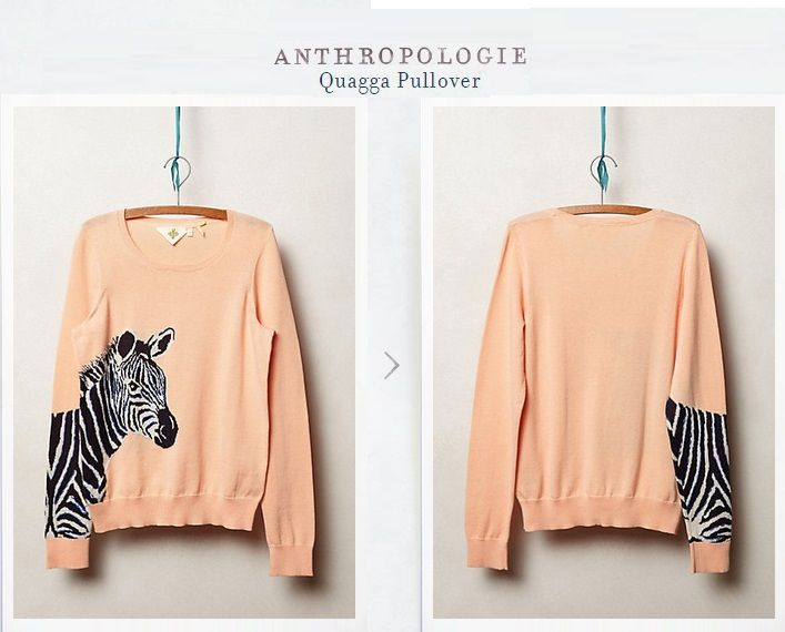 Zebra Pullover. Tienda MyFavorite_4d, only beautiful things www.facebook.com/myfavorite4d