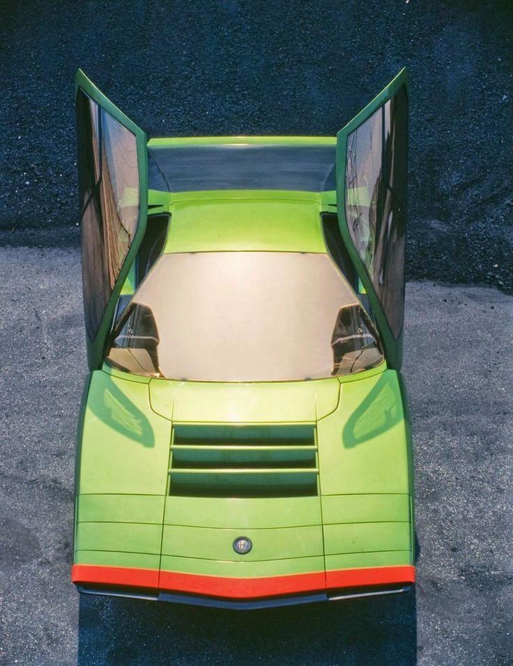 alfa romeo carabo concept - bertone - 1968