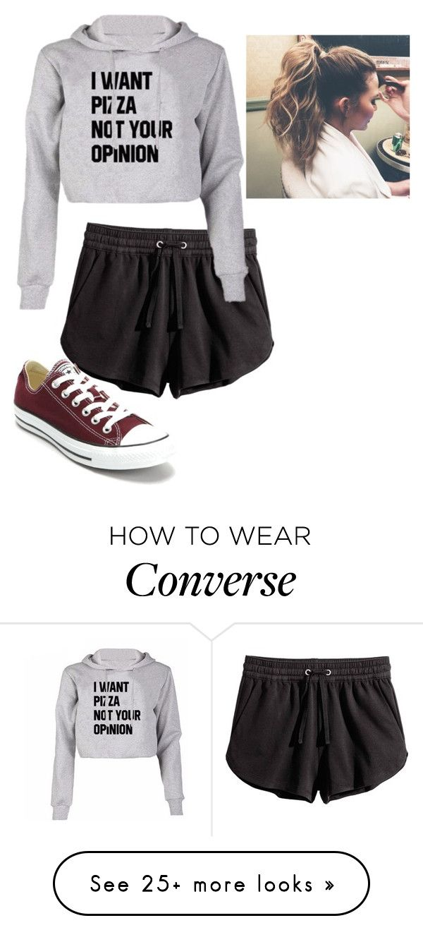 """""""Untitled #334"""" by xxyourcrazynightmarexx on Polyvore featuring Converse"""