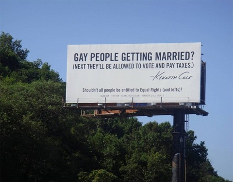 Go Kenneth ColeReal People, Equality Right, Gay Marriage, Funny Image, Quotes, Kenneth Cole, Get Married, Well Said, Rainbows Stuff
